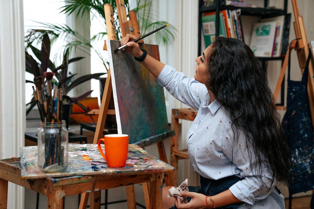 The Mental Health Benefits of Creativity
